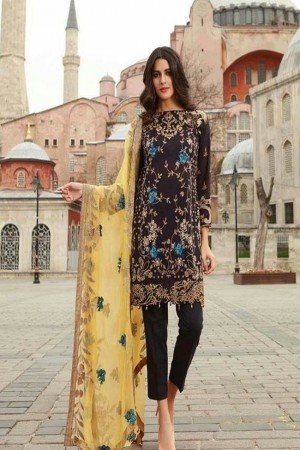 Mahiymaan Luxury Lawn Collection by AlZohaib-M-09