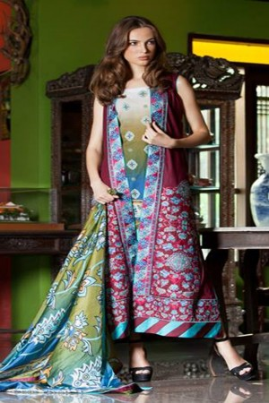 Mahiymaan Summer Collection By Alzohaib-D-1B