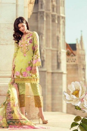 Mina Hasan Embroidered Lawn Collection-7-B