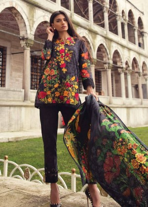 Mina Hasan Luxury Embroidered Lawn Collection-5-B