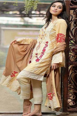 Noor-E-Fizzata Cotton Silk Collection-D-04