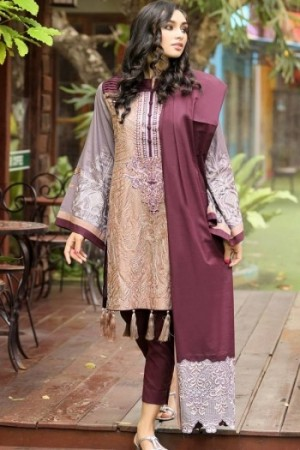Noor-E-Fizzata Cotton Silk Collection-D-05