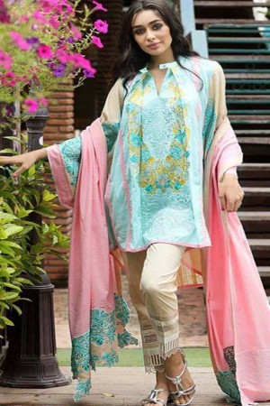 Noor-E-Fizzata Cotton Silk Collection-D-07