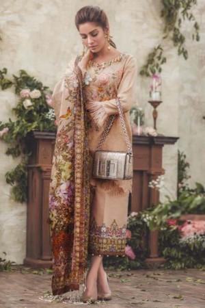 Noor By Sadia Asad Luxury Lawn Collection'18 LA POE'TESSE-D-05