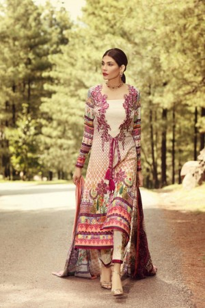 Noor by sadia asad winter collection-D2