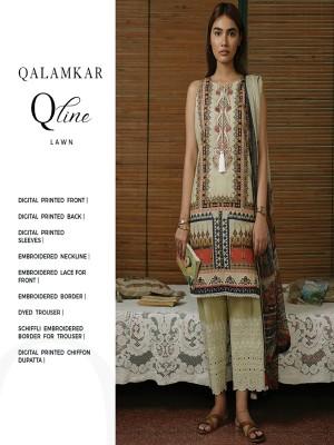 Qalamqar qline QLS-07 Eid collection 20