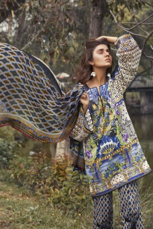 Sapphire Lawn Vol III Collection'18-D-03