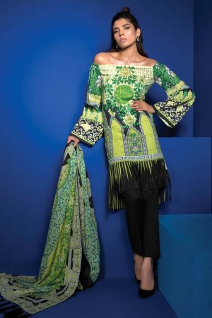 Sapphire Lawn Vol III Collection'18-D-07