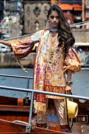 Shehla Chatoor Embroidered Lawn 03 A