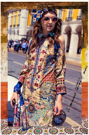 Shehla Chatoor Embroidered Lawn 06 A