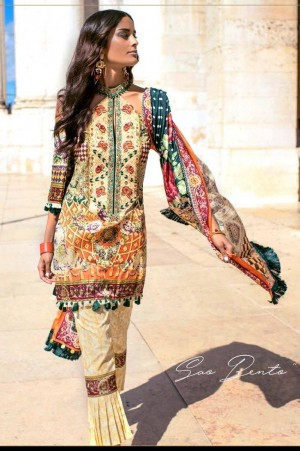 Shehla Chatoor Embroidered Lawn 06 b