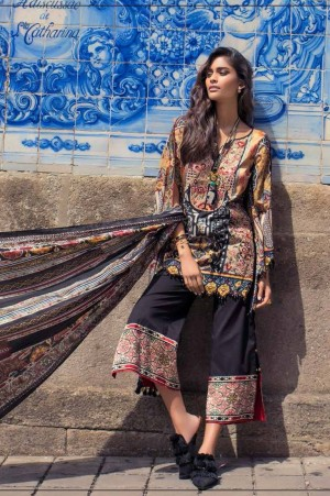 Shehla Chatoor Embroidered Lawn 08 a