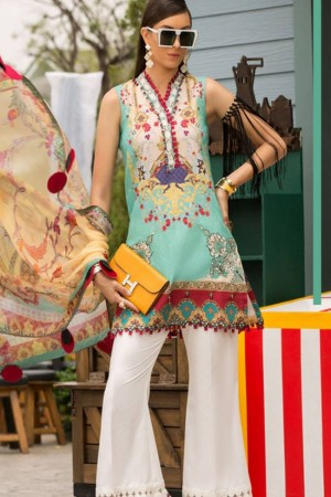 Shanaya By Noor Sadia Asad Luxury Lawn Collection'19-D-1