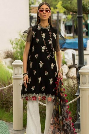 Shanaya By Noor Sadia Asad Luxury Lawn Collection'19-D-15