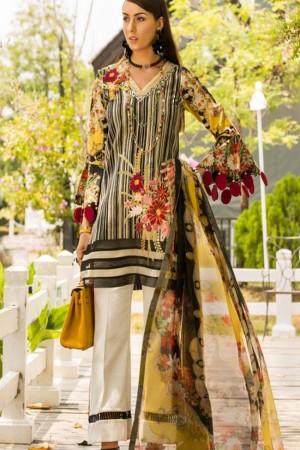 Shanaya By Noor Sadia Asad Luxury Lawn Collection'19-D-3