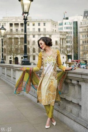 Sobia Nazir Lawn Collection By Imperial Texiles-D-15