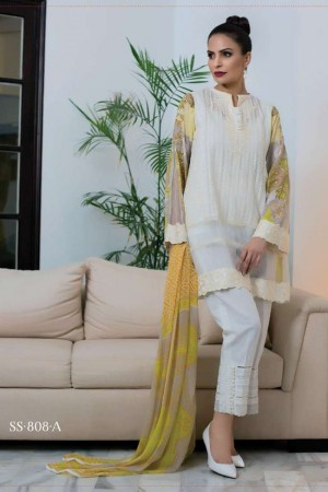 Sophia Sahar By LSM Embroidered Lawn Collection LSS17E 808A