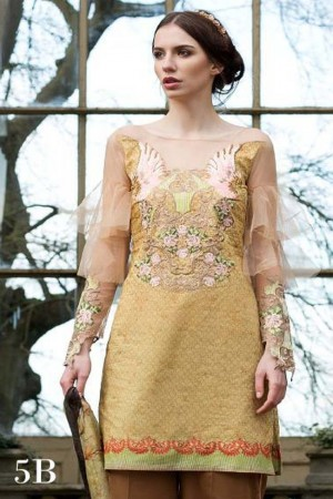 Tabassum Mughal Luxury Lawn Collection'17D-5B