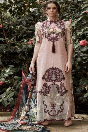Tabassum Mughal Luxury Lawn Collection'17D-7A