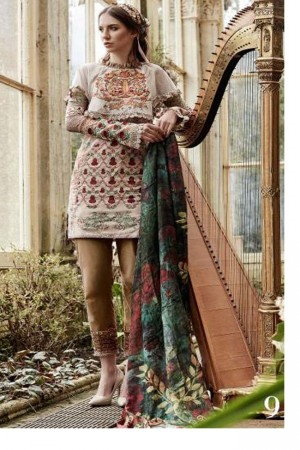 Tabassum Mughal Luxury Lawn Collection'17D-9A