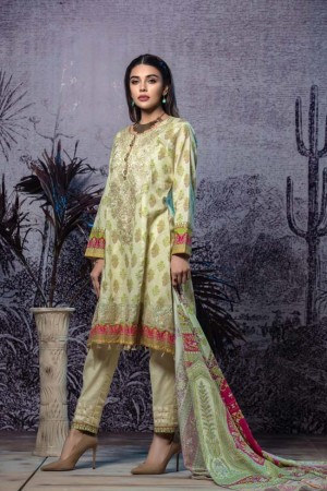 Tatheer Luxury Lawn Collection'19-D-02