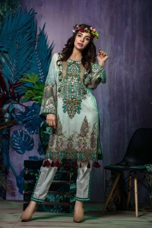 Tatheer Luxury Lawn Collection'19-D-05