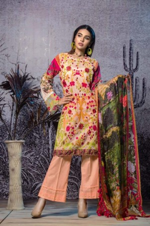 Tatheer Luxury Lawn Collection'19-D-06