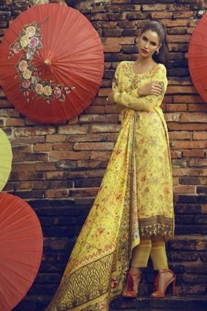 Tena Durrani Formals Collection'17-Marigold-11