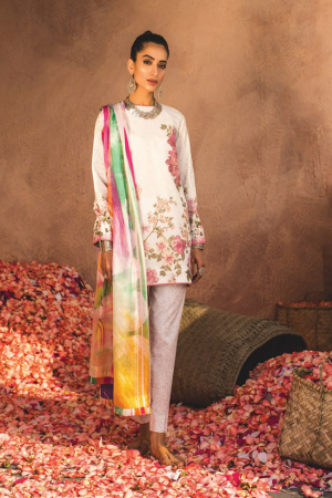 Zarashahjahan Lawn Collection'19-D-Shaam-B