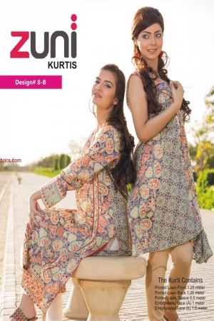 Zuni Lawn Kurti Collection-D-08B
