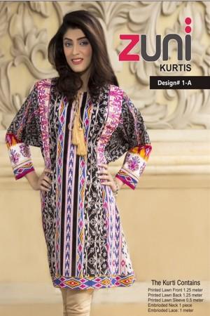 Zuni Lawn Kurti Collection-D-1A