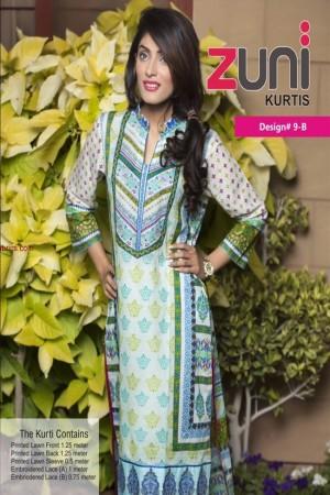 Zuni Lawn Kurti Collection-D-9B