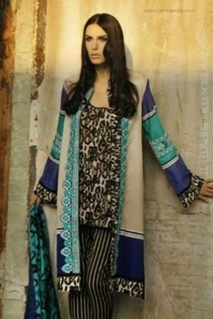 Zunuj by Lsm Lawn Collection-D-009B