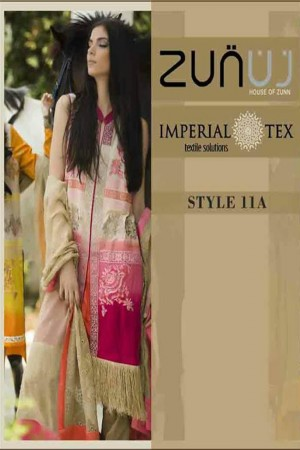 Zunuj Imperial Tex Lawn Collection-D-11A