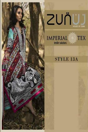 Zunuj Imperial Tex Lawn Collection-D-13A