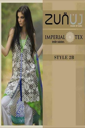 Zunuj Imperial Tex Lawn Collection-D-2B