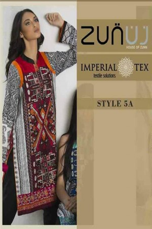 Zunuj Imperial Tex Lawn Collection-D-5A