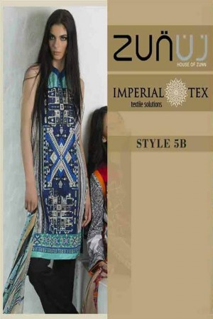 Zunuj Imperial Tex Lawn Collection-D-5B