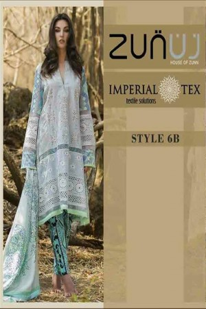 Zunuj Imperial Tex Lawn Collection-D-6B