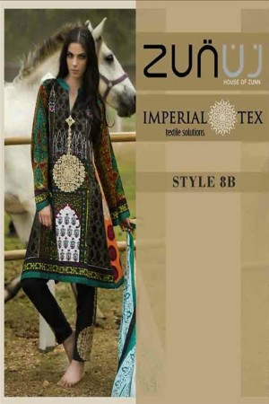 Zunuj Imperial Tex Lawn Collection-D-8B