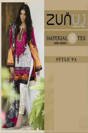 Zunuj Imperial Tex Lawn Collection-D-9A